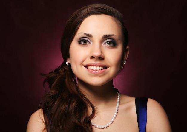 Portret van mooie jonge sexy vrouw