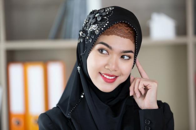 Portret van moslimvrouwen