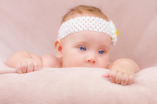 Portret van schattige baby
