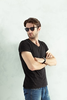 Portret van sexy man