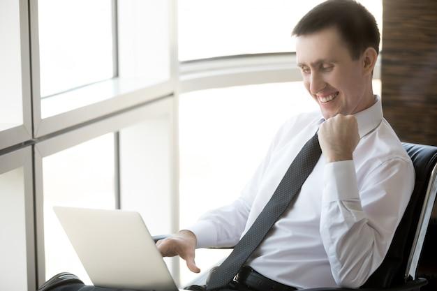 Portret van succesvolle zakenman