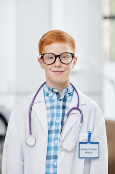 Portret van toekomstige arts