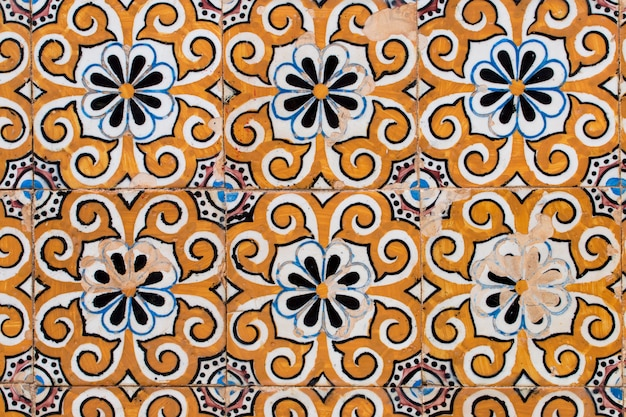 Portugese azulejo-tegels