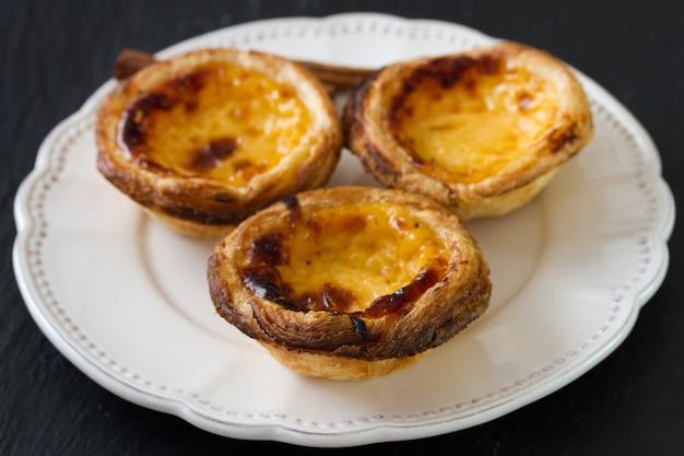 Portugese typische koekjes op plaat