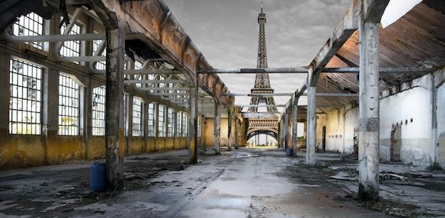 Post-apocalyptische effel-toren