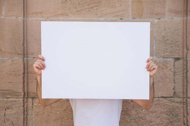 Poster vasthouden