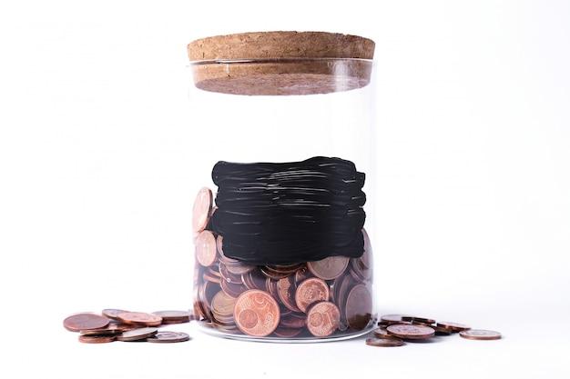 Pot voor munten