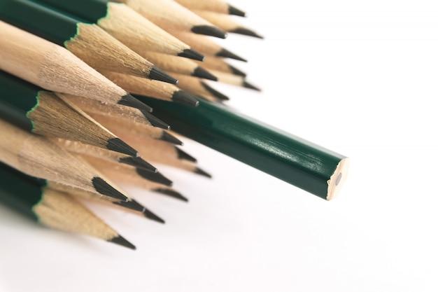 Potloden is een schrijf- of tekeninstrument, bestaande uit een dunne stok grafiet of een vergelijkbare substantie ingesloten in een lang dun stuk hout of bevestigd in een metalen of plastic behuizing.