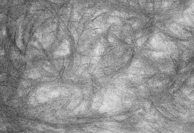 Potlood grunge zwart-witte textuur of achtergrond