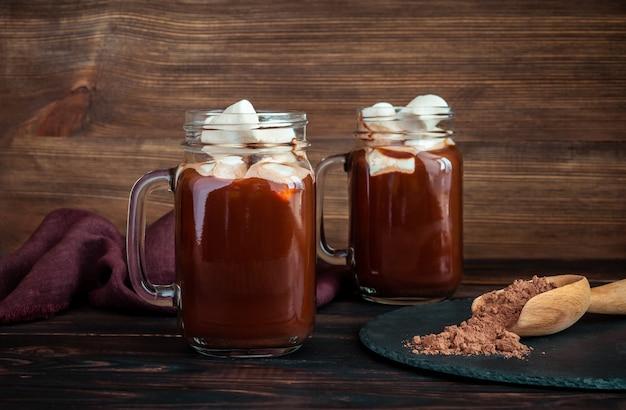 Potten warme chocolademelk