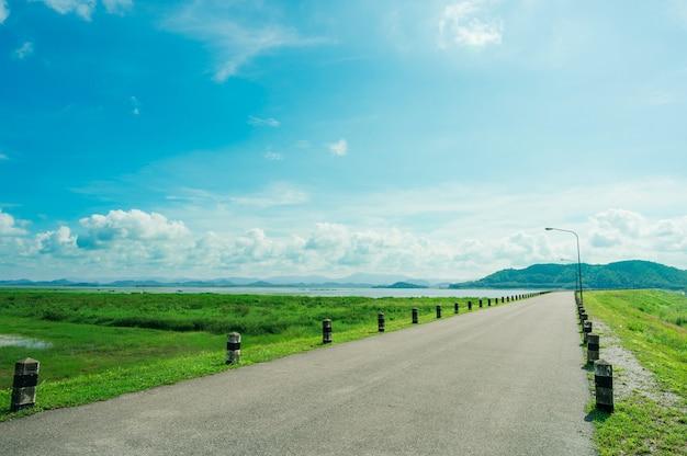 Pra sae reservoir, provincie rayong in thailand