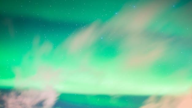 Prachtig aurora borealis noorderlicht