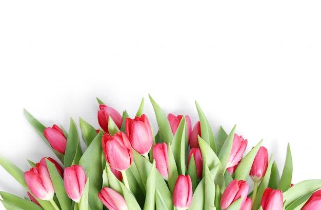 Prachtig boeket tulpen