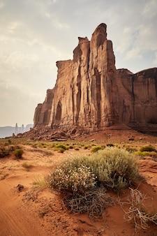 Prachtig landschap van mesaslandschap in bryce canyon national park, utah, vs