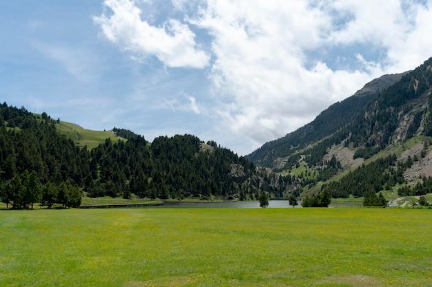 Prachtig natuur locatie uitzicht