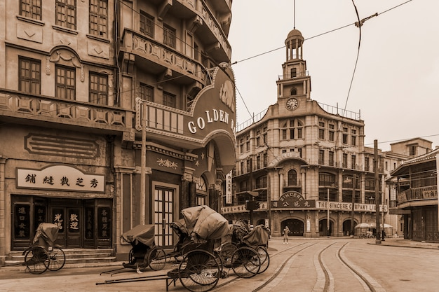 Prachtig oud stadszicht