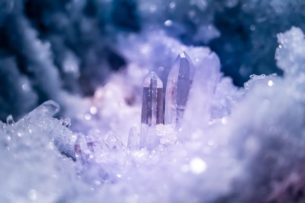 Prachtig paars kristal