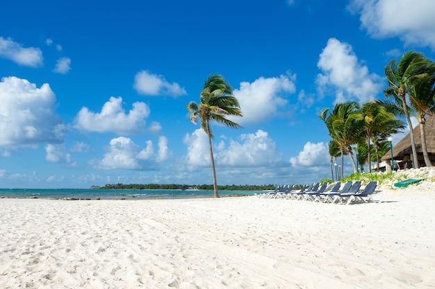 Prachtig strand en tropische zee