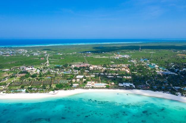 Prachtig tropisch eiland zanzibar, tanzania