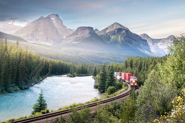 Prachtig uitzicht in canada