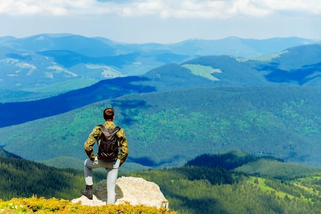 Prachtig uitzicht op de karpaten