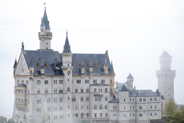 Prachtig uitzicht op het kasteel van neuschwanstein, duitsland