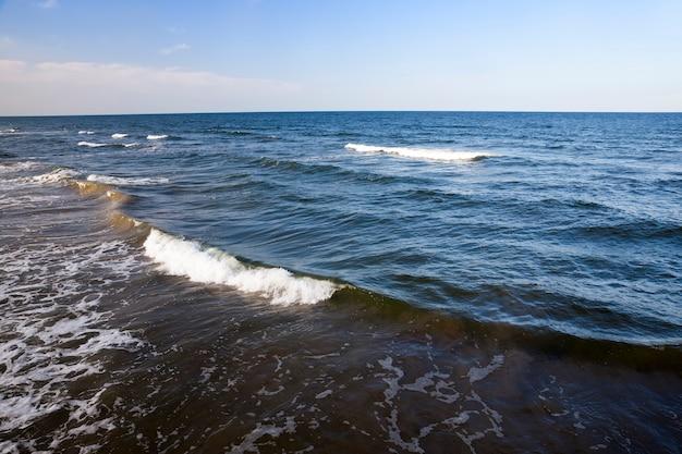 Prachtig zonnig weer aan de oostzeekust