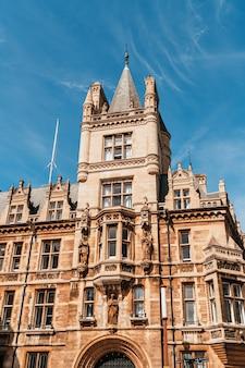 Prachtige architectuur in cambridge city