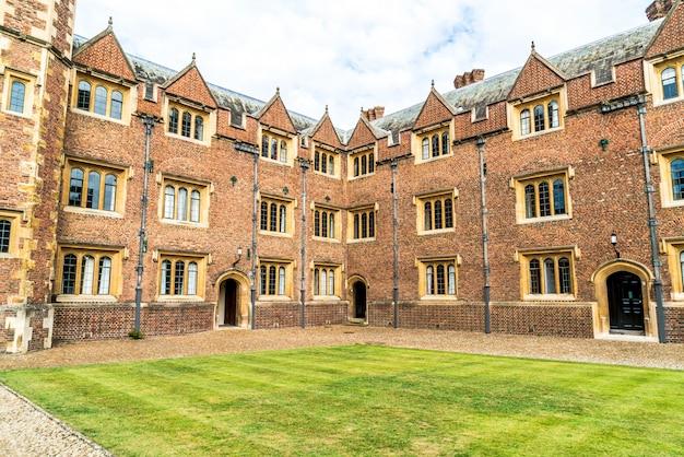 Prachtige architectuur st. john's college in cambridge