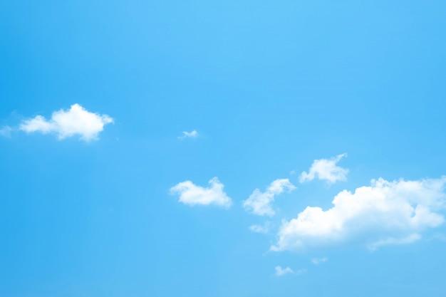Prachtige blauwe hemel