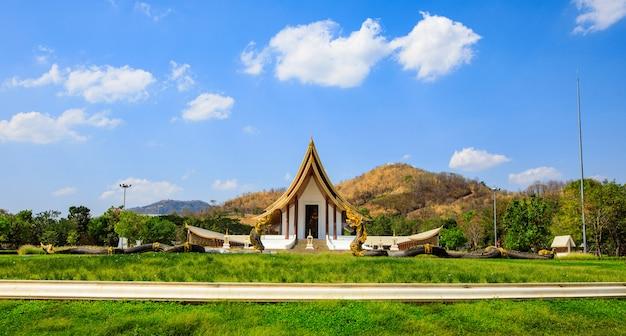 Prachtige boeddhistische tempel in de provincie phetchabun