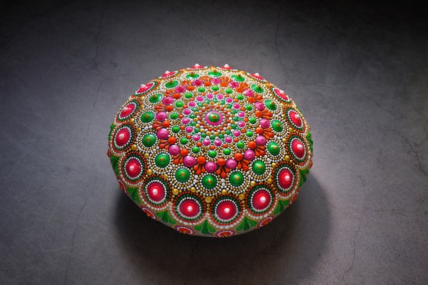 Prachtige handbeschilderde mandala