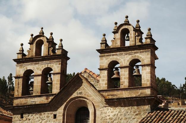Prachtige kathedraal op de plaza de arma, cuzco