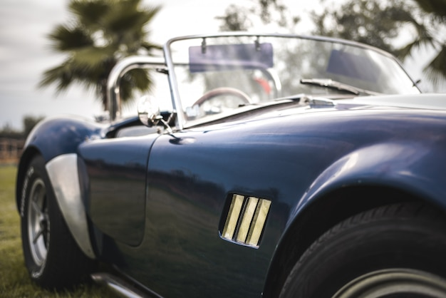 Prachtige klassieke vintage sportwagen