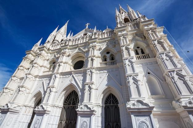 Prachtige koloniale architectuur in el salvador, midden-amerika