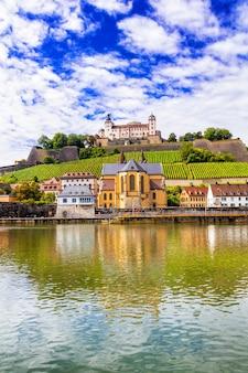 Prachtige middeleeuwse stad in duitsland