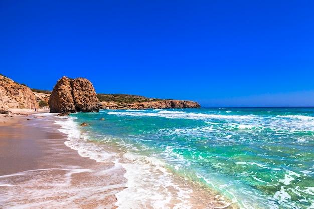Prachtige stranden van griekse eilanden