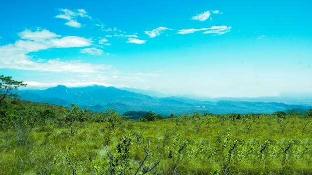 Prachtige uitzichtpunt berg
