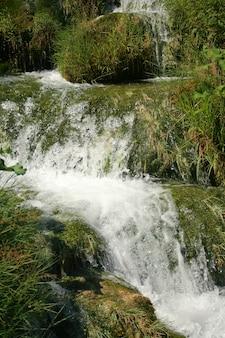 Prachtige watervallen in het bos