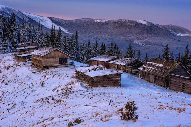 Prachtige winterlandschap