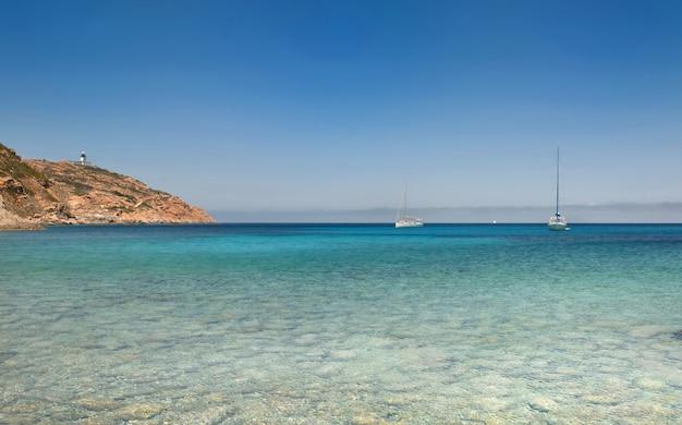 Prachtige zee in corsica