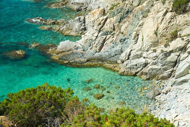 Prachtige zee van villasimius