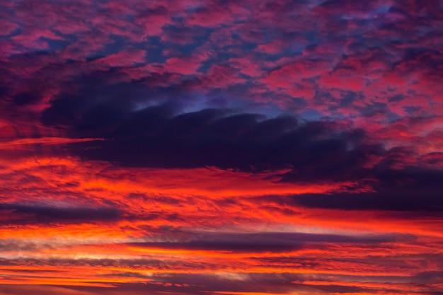 Prachtige zonsondergang hemel textuur