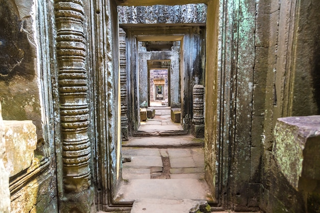 Preah khan-tempel in angkor wat in siem reap