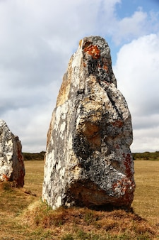 Prehistorische menhirs op frans grondgebied