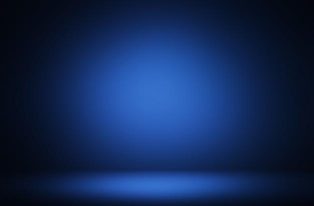 Premium blauwe verlichting product display achtergrond