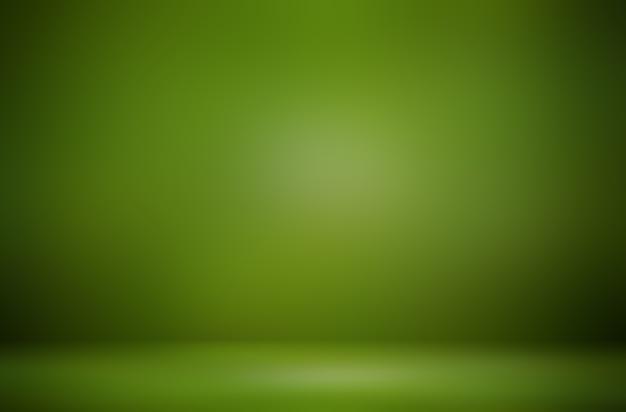 Premium groene productweergave-achtergrond