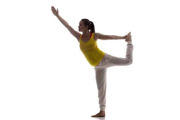 Prenatale yoga, nataradjasana