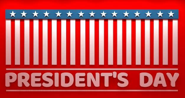 President's day banner, vs.