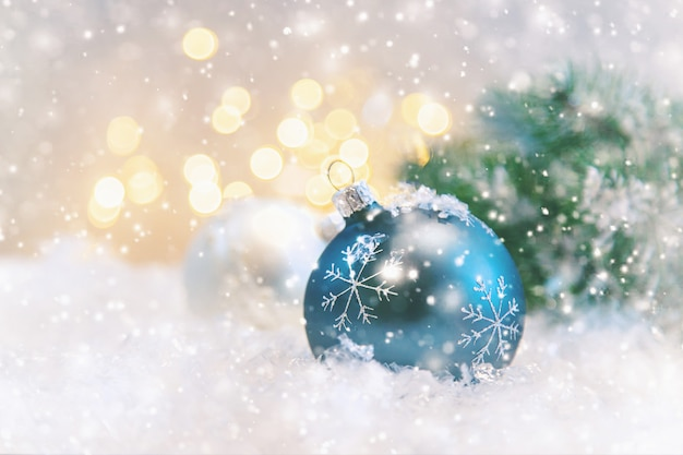 Prettige kerstdagen en gelukkig nieuwjaar, vakantie wenskaart achtergrond.